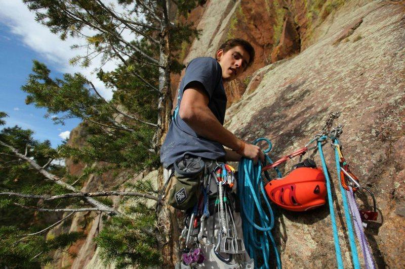 Rock Climbing Photo: me at eldo