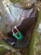 Rock Climbing Photo: Baby Crane  Photo: Paul Campbell