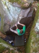 Rock Climbing Photo: Sweet heals and fun moves up this arete.  Photo: P...