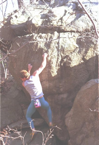 Ed Sewall 1987 early ascent of Lilly Pad problem