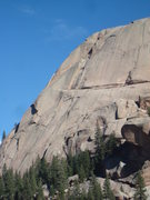 Rock Climbing Photo: Dome rock - too bad its off limits!