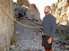 Rock Climbing Photo: I, Belay Robot. Better than yer best belay betty, ...