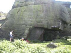 Rock Climbing Photo: Green Streak lives up to its name.  This photo was...