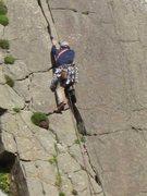 Rock Climbing Photo: Phil Ashton starting Shangri La