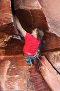 Rock Climbing Photo: Andy Hansen digs deep for jams on the roof.  mattk...