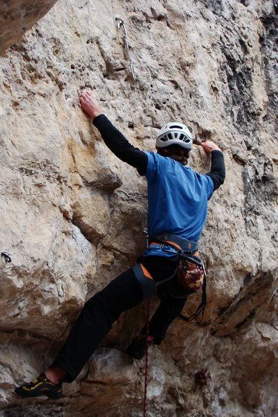 Rock Climbing Photo: Astro Pop, 5.11b