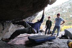 Rock Climbing Photo: JC slaying it.