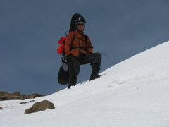 Rock Climbing Photo: Climbing Fosiles Peak, Argentina