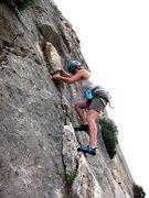 Rock Climbing Photo: Heading to the crux of Coordina Coordinator