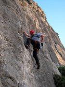 Rock Climbing Photo: Start of Curset.