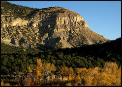 Rock Climbing Photo: Autumn in Utah.