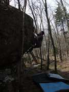 Rock Climbing Photo: Aaron James Parlier on The Hive