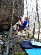 Rock Climbing Photo: Travis Melin on The Hive