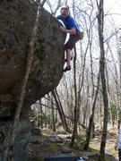 Rock Climbing Photo: Travis on The Hive
