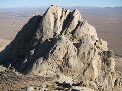 Rock Climbing Photo: Looking east at the First Finger from the Second F...