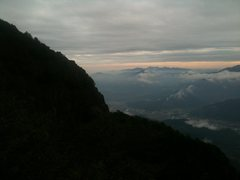 Rock Climbing Photo: The mountain is on the left. Mount Fuji not in thi...