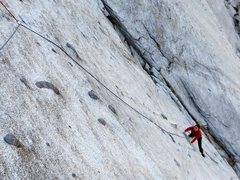 Rock Climbing Photo: Pitch 6 - Crazy knobs