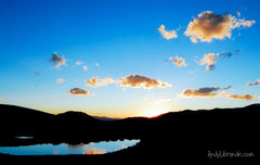 Rock Climbing Photo: Sunset at the top of Independence Pass August 8th,...