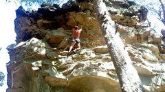 Rock Climbing Photo: Jamie finishing up Cinco de Mayo