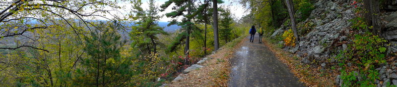 Carriage road in Fall