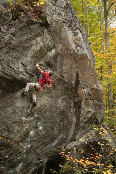 Rock Climbing Photo: Matt on get it on