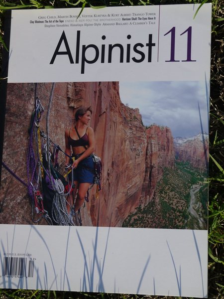 """""""Prodigal Sun"""" as seen on the cover of Alpinist 11"""