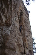 Rock Climbing Photo: Left side of The Prow. Climbers on Bald/Shaved, 5....
