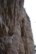 Rock Climbing Photo: Use the crack, escape the pod.