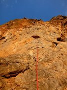 "Rock Climbing Photo: Most of the route ""Sea"" in view.    Stee..."