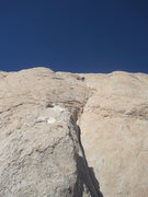 Rock Climbing Photo: Higher on P2
