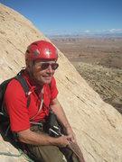 Rock Climbing Photo: Ron on belay