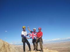 Rock Climbing Photo: The lads doing an Everest !