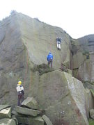 Rock Climbing Photo: Millwheel Wall with a sneaky side-runner (photo: P...