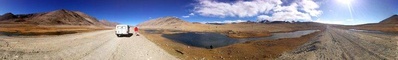 somewhere near Khalai Khum