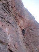 Rock Climbing Photo: Starting the corner