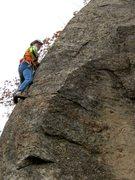 Rock Climbing Photo: Tom Lane, full of Bulogna