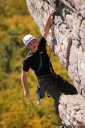 Rock Climbing Photo: high exposure at the gunks
