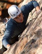 Rock Climbing Photo: wake and bake at shelving rick in the ADKs