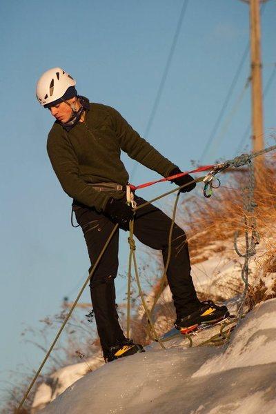Rock Climbing Photo: spier falls