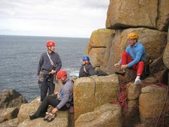 Rock Climbing Photo: Getting ready for an assault on Land's End Long Cl...