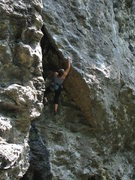 Rock Climbing Photo: The start of Buried Treasure - climber - Nancy Lan...