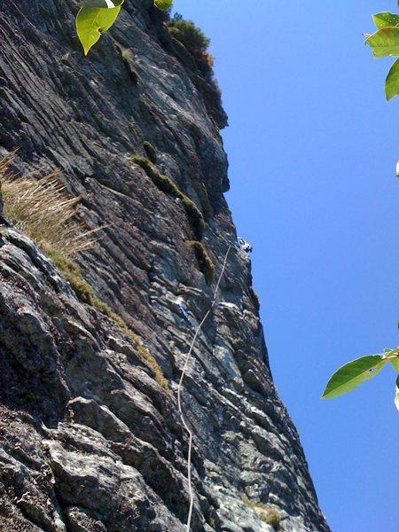 Rock Climbing Photo: My Route