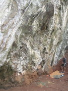Rock Climbing Photo: The bottom of Lars and Lars, I think. It was Denni...