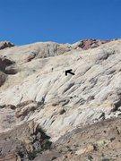 Rock Climbing Photo: Normal photo showing climbers top of P2. Photo Car...