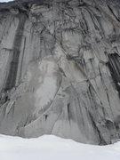 Rock Climbing Photo: Where Sunshine wall used to start