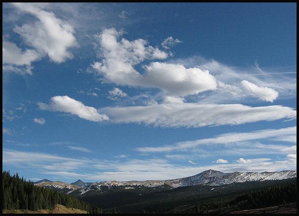 Near Vail Pass.<br> Photo by Blitzo.