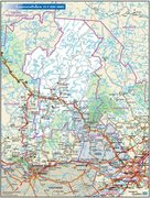 Rock Climbing Photo: Map of the Laurentides