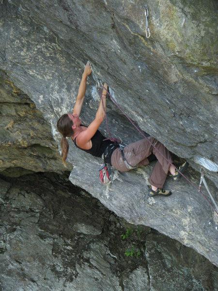 More ramp funkyness  <br> Climber - Jen Lloyd
