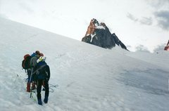 Rock Climbing Photo: on Vowell Glacier on the way to Pigeon Spire
