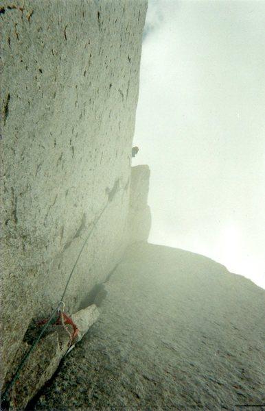 Rock Climbing Photo: McTech Wet